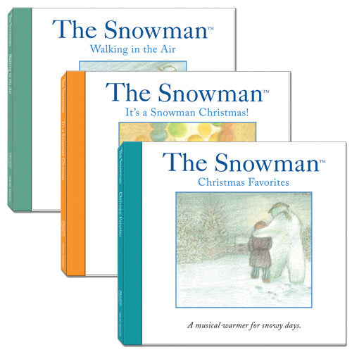 The Snowman Winter Wonderland Melodies 3 CD Set