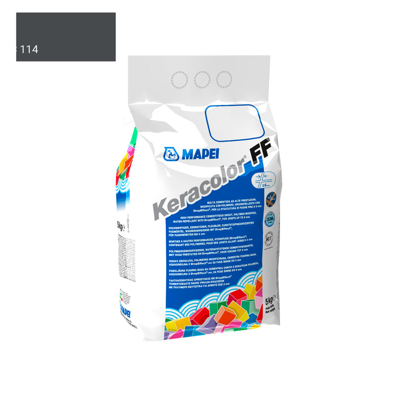 MAPEI KERACOLOR 114 ANTHRACITE 5 KG