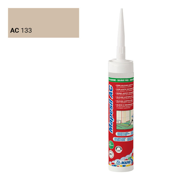MAPEI SILICONE 133 SABLE 310ML