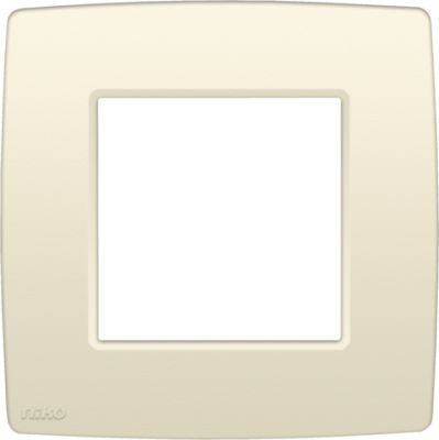 PLAQUE SIMPLE 60MM CREME