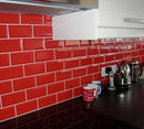 CARR METRO RED 10 X 20  WALL 0,8 M²/PQ