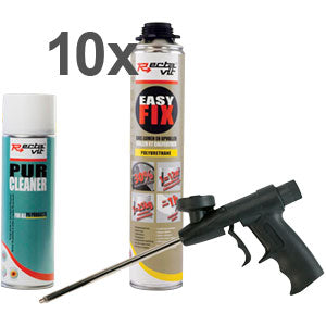 EASY FIX COMBIBOX - 10 x 750 ML + PISTOLET NBS