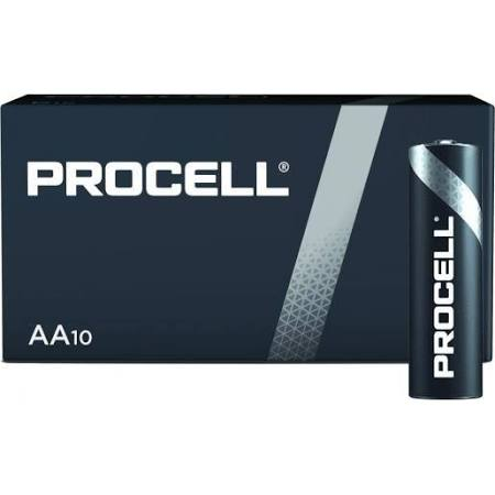 PILE DURACELL PROCELL LR6 AA 1,5V 10PC