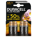 PILE DURACELL LR6 AA 4PC