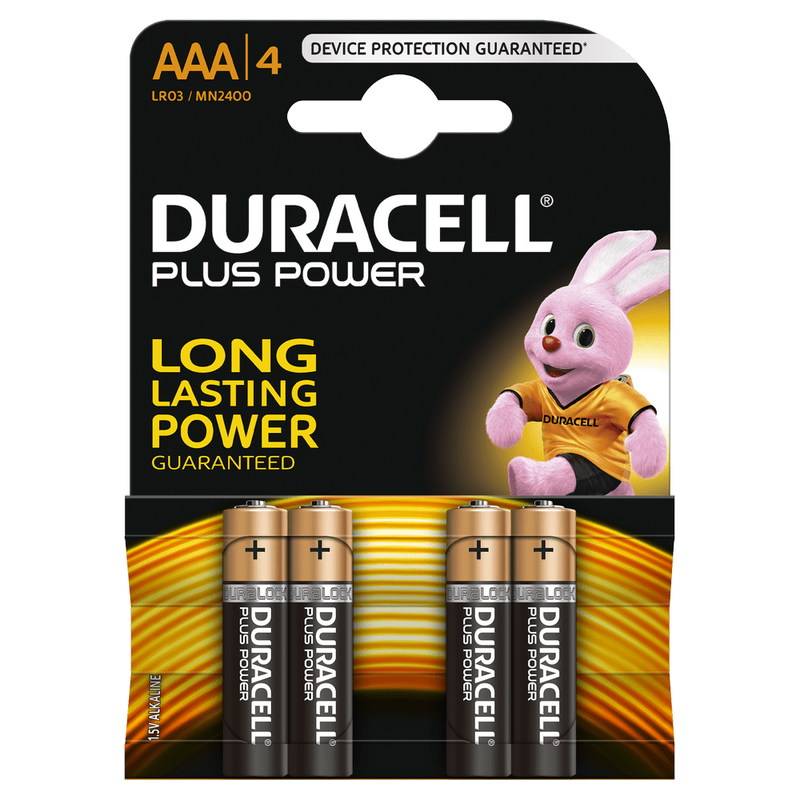 PILE DURACELL LR3 AAA 4PC