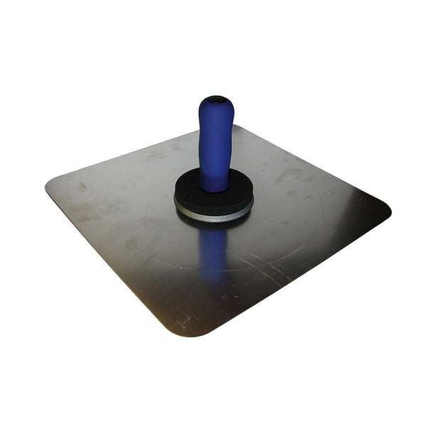 PALETTE DE PLATRIER - 330 X 330 MM ERGO-SOFT- INOX