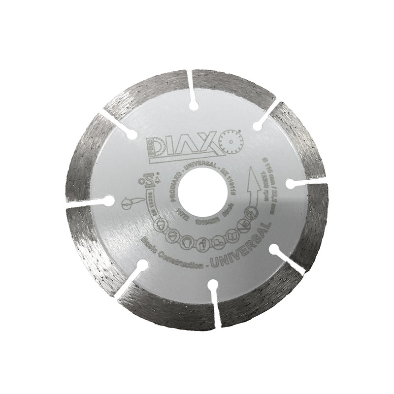 DISQUE DIAMANTE UNIVERSAL -  115 X 22,2 MM - BASIC CONSTRUCTION