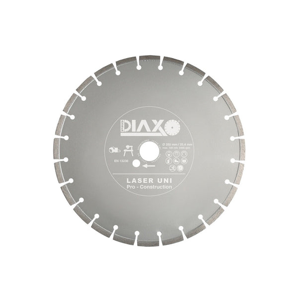 DISQUE DIAMANTE LASER UNI - 350 X 25,4 M - PRO CONSTRUCTION