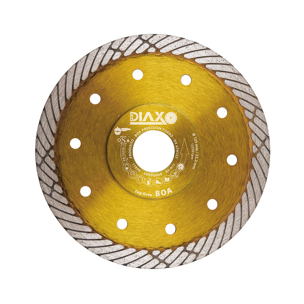 DISQUE DIAMANTE BOA PRECISION TURBO - 125 x 22,2 MM - TOP GRÈS