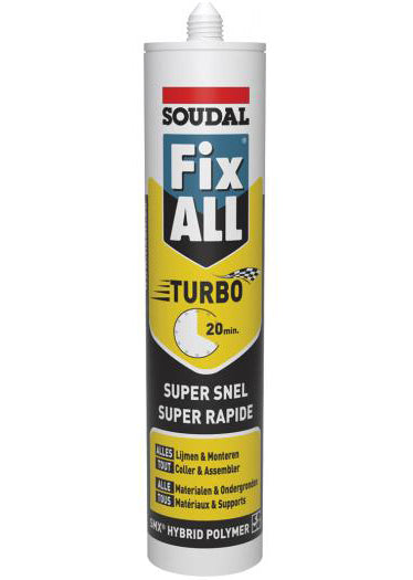 FIX ALL TURBOWIT/BLANC290ML