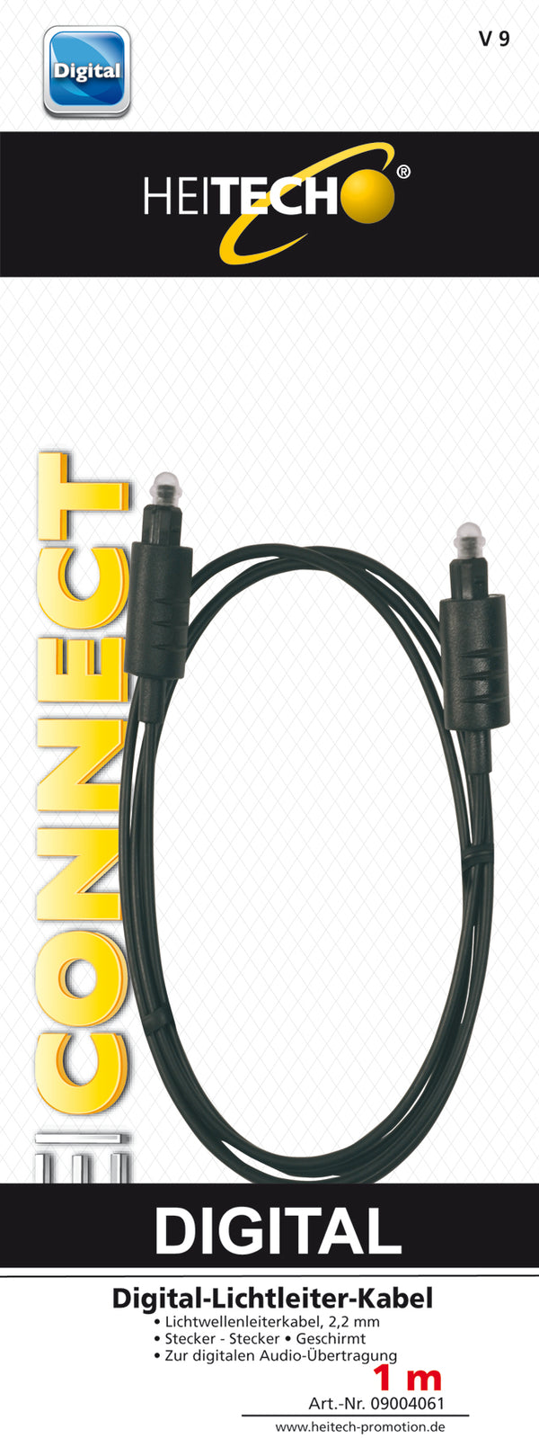 CABLE OPTIC 1M