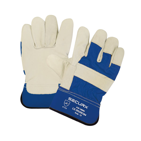 GANTS DE SECURITE CUIR WINTER / 10