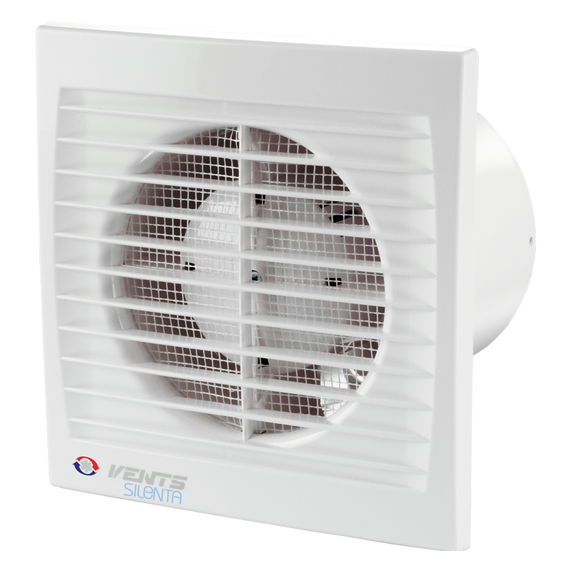 VENTS VENTILATEUR SILENTA DIA: 100MM BLANC