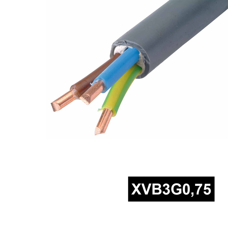 CABLE XVB3G0,75