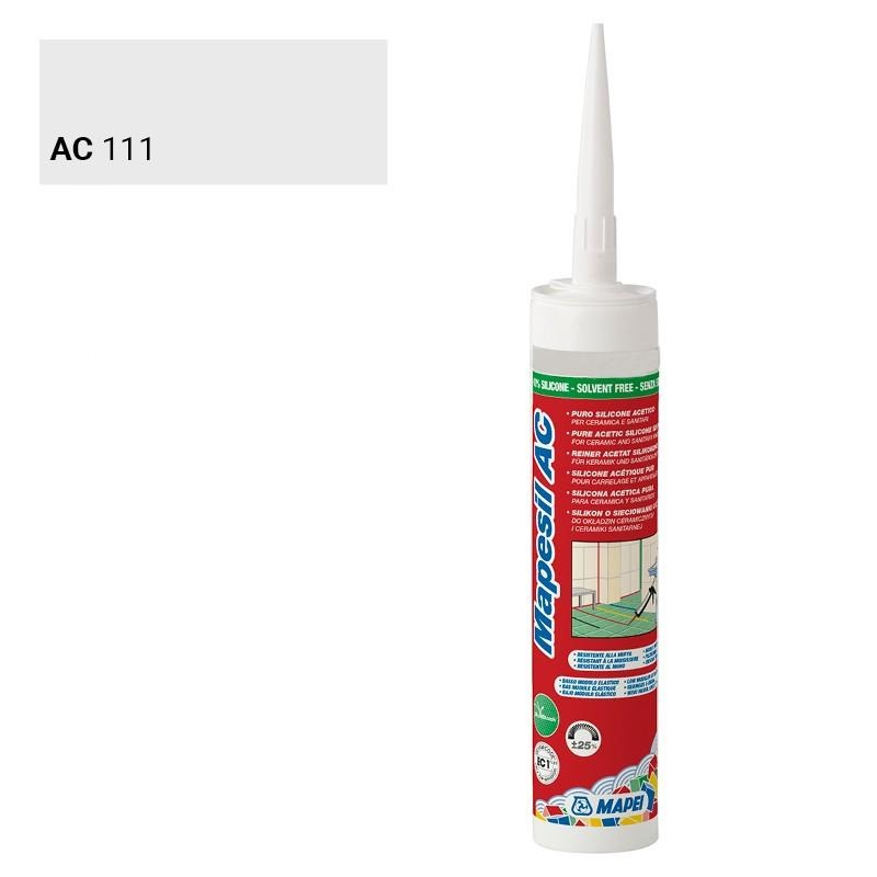 MAPEI SILICONE 111 GRIS ARGENT 310 ML