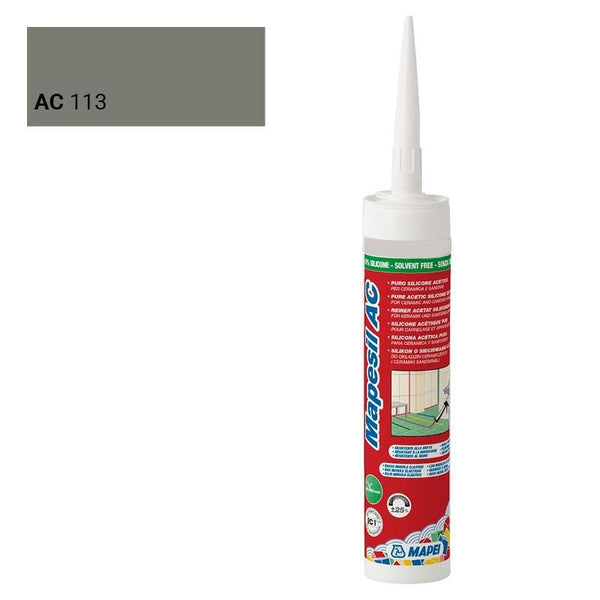 MAPEI SILICONE 113 GRIS CIMENT 310 ML