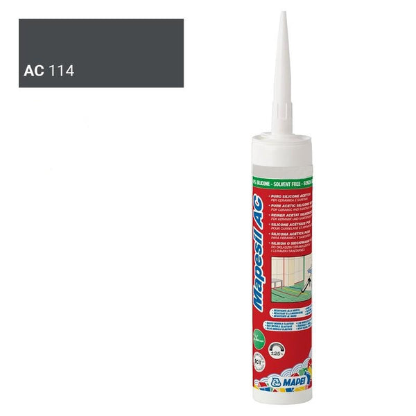 MAPEI SILICONE 114 ANTHRACITE 310 ML