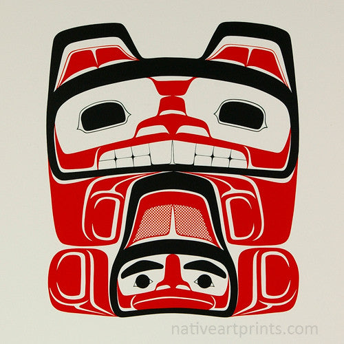 Haida Beaver by Francis Williams