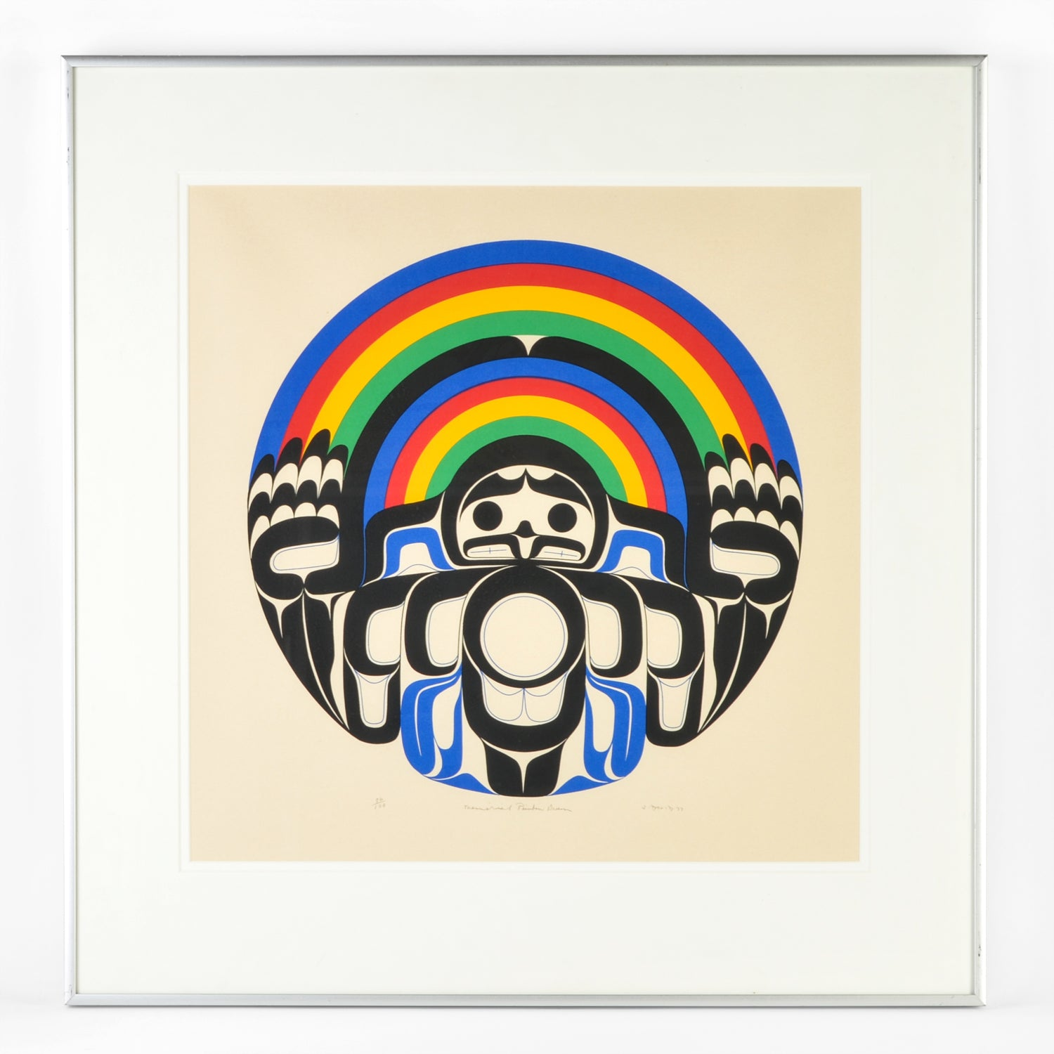 Memorial Rainbow Drum by Joe David