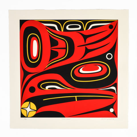 Haida Raven by Lyle Campbell
