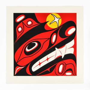 Haida Wolf by Lyle Campbell
