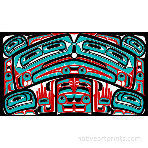 Haida Bentwood Box by Mitch Adams