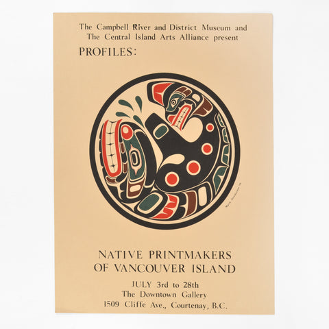 Native Printmakers of Vancouver Island Poster by Mark Henderson
