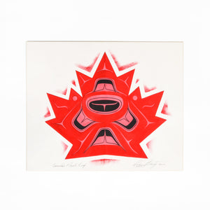 Canadian Maple Leaf by Richard Shorty
