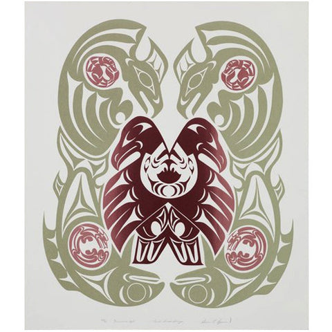 Coast Salish Design by Susan Point