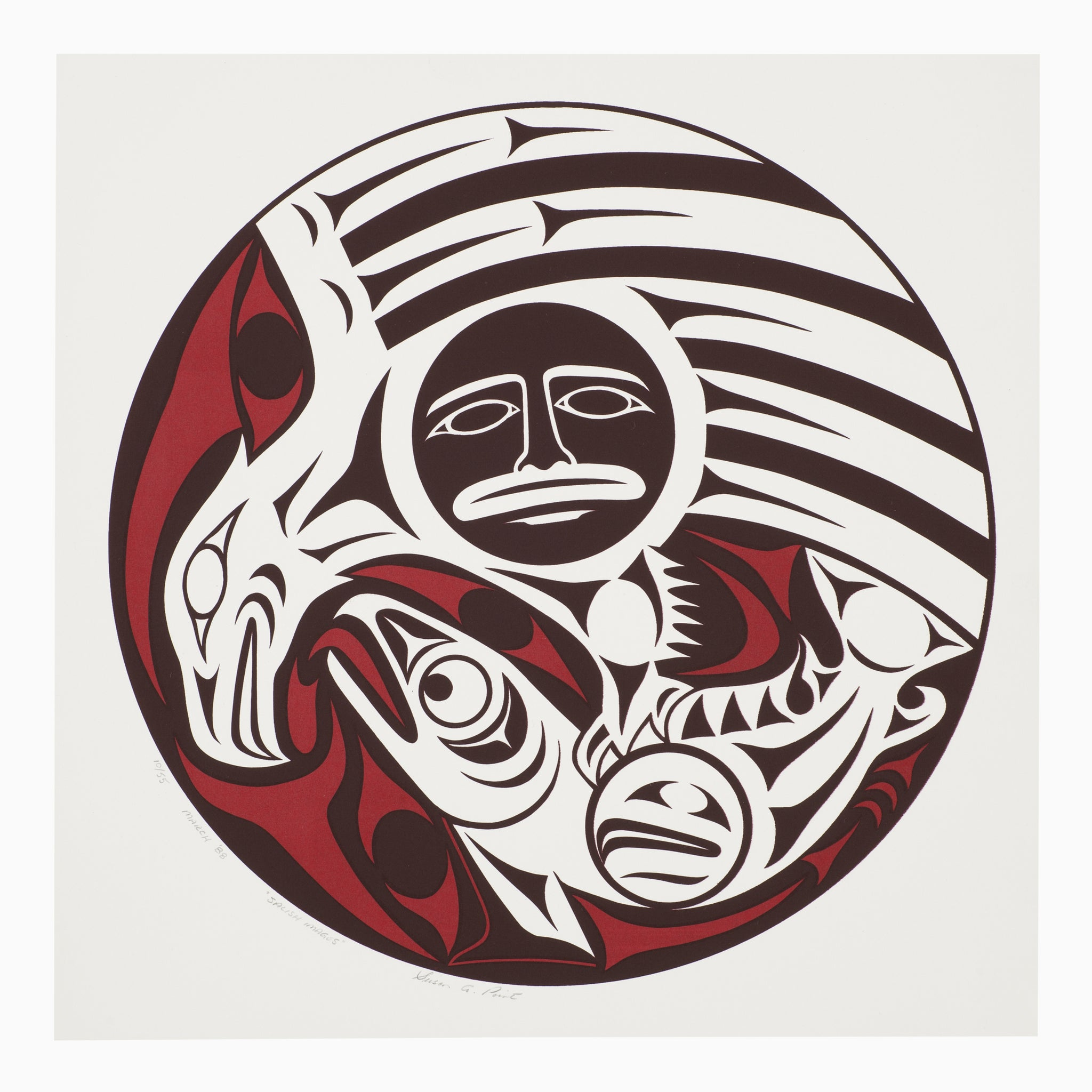 Salish Images by Susan Point