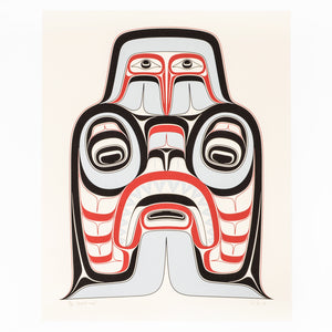 Ḵ'aax̱ada Awg̱a (Shark) by Tyson Brown