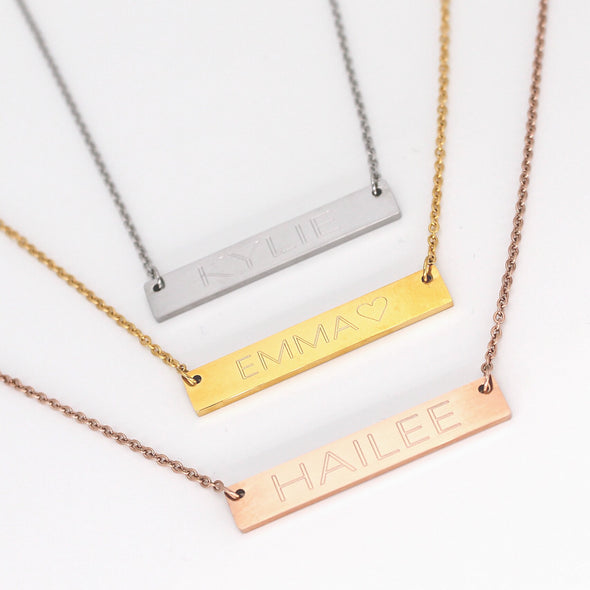 Personalized Inspirational Necklace