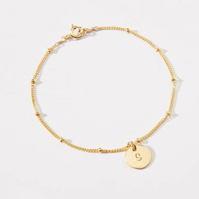Satellite Coin Anklet