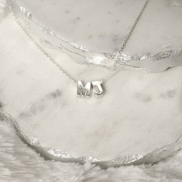 Sterling Silver Charm Necklace
