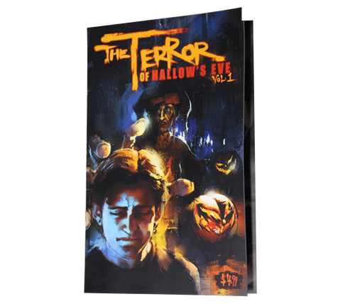 THE TERROR OF HALLOW'S EVE- COMIC BOOK