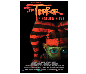 MOVIE POSTER (FESTIVAL LOGO)- The Terror of Hallow's Eve