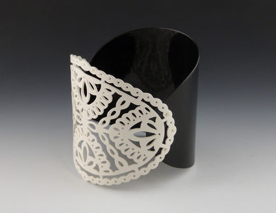 Two Piece Decorative Cuff Bracelet