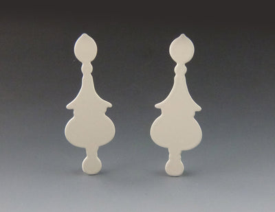 Decorative Pearl Drop Silhouette, cream