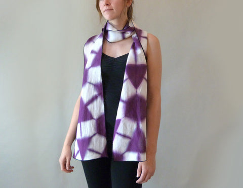 Itajame Scarf on model