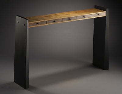 Slim Table, 5 drawer