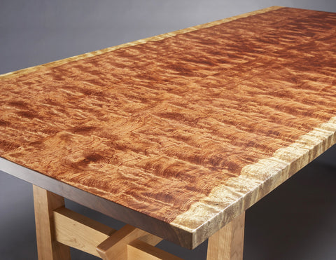 Solide Dining Table top detail