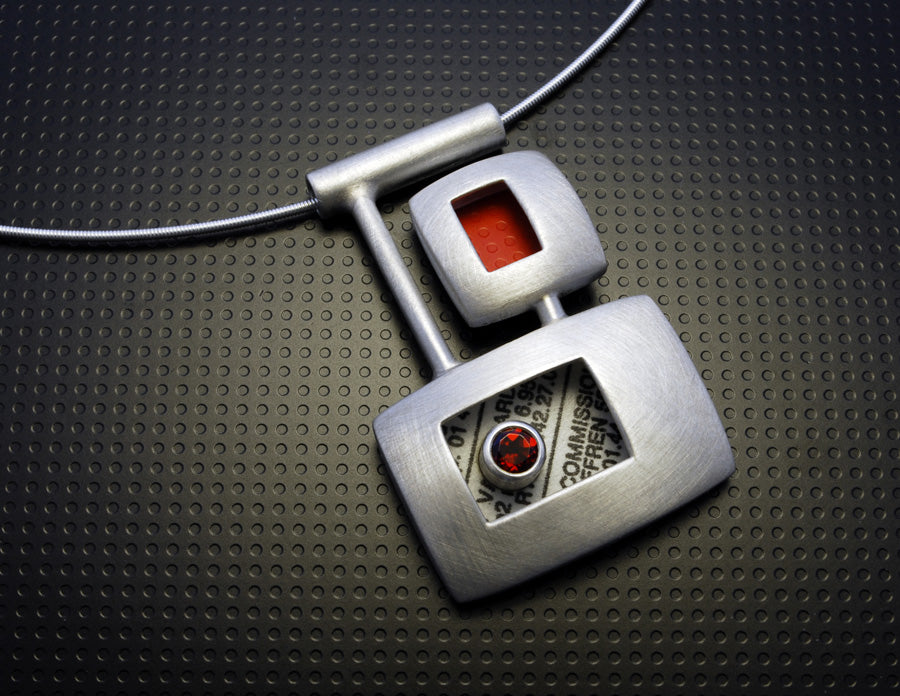 Classify Console Garnet Necklace