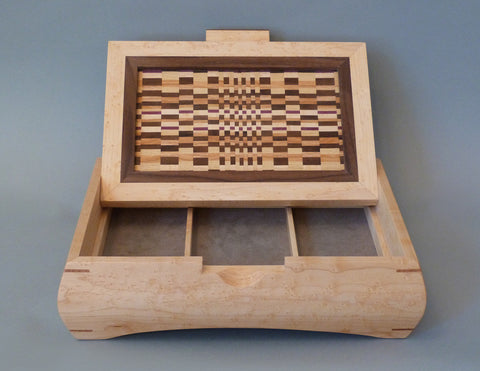 Seven Wood Valet open lid