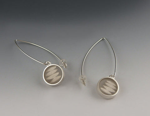 Leaf Form Earrings