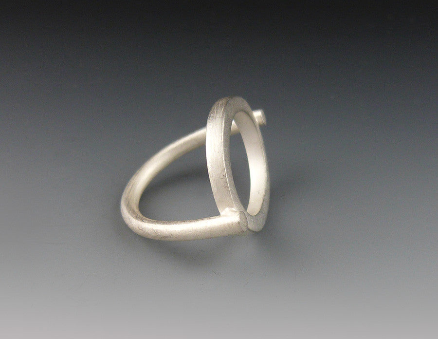 Square Stock Circle Ring side view