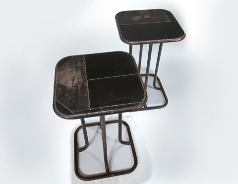 Pedestal Tables, black