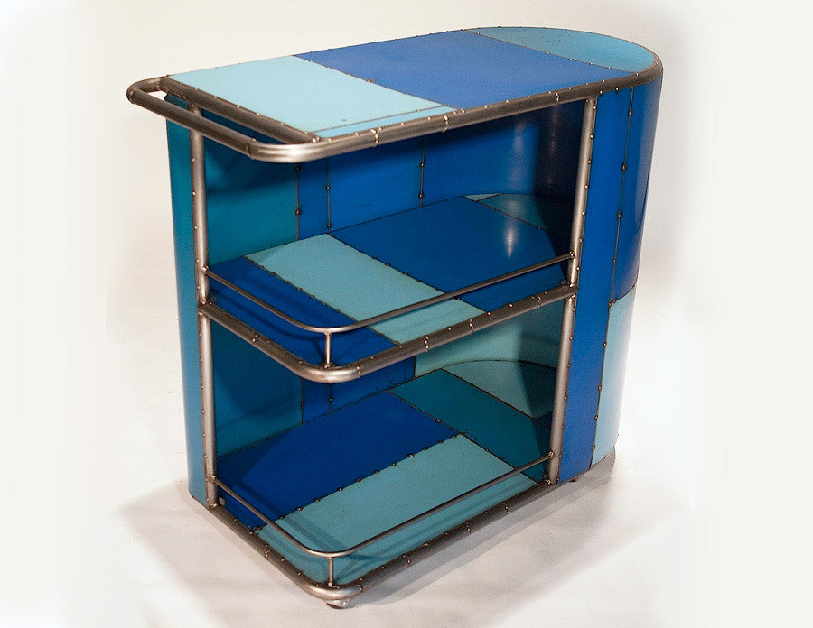 Microbar / Serving Cart, blue