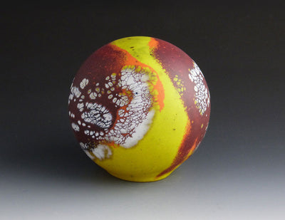 Elemental Sphere, opal orange yellow