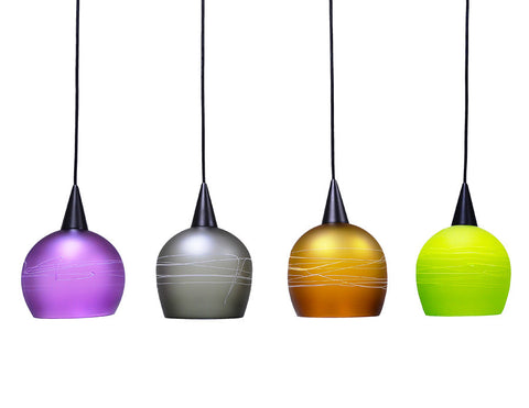Hand Blown Pendant Lights