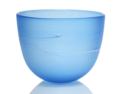 Small Studio Series Bowl, lapis blue